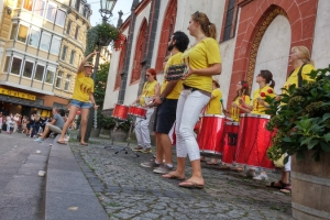 Straßensamba in Koblenz 22.08.2015