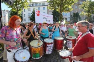 Samba gegen Rechts 15.03.2014