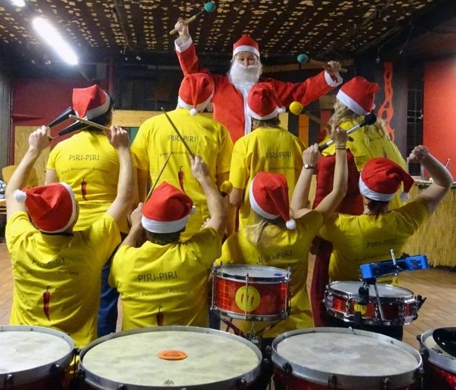 Weihnachtssambamit Piri-Piri
