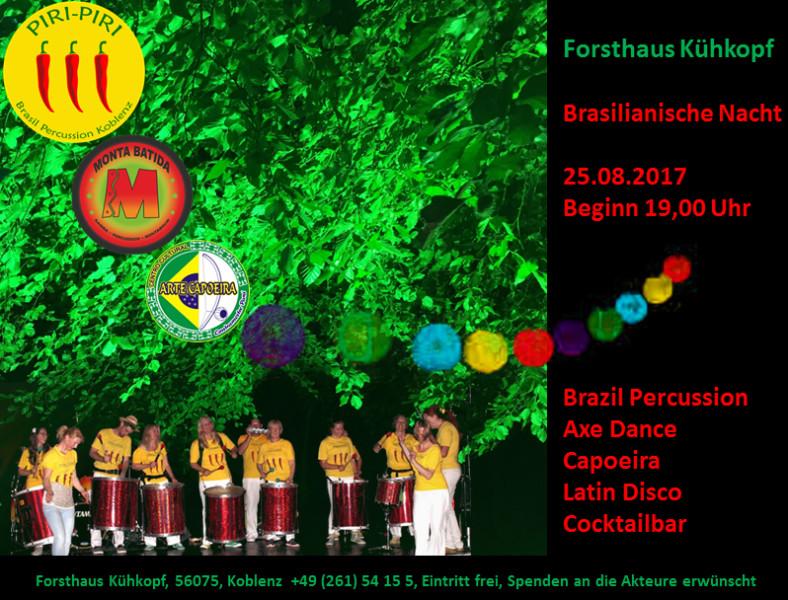 Brasilianische Nacht mit Piri-Piri